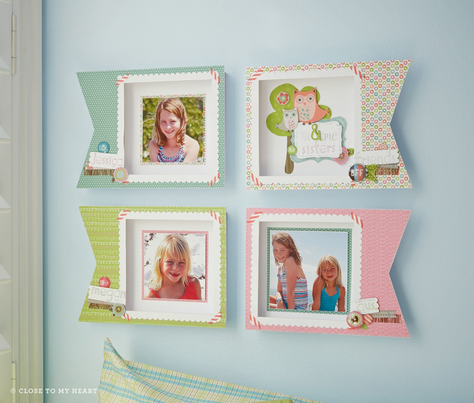 CTMH Lollydoodle Picture Frame