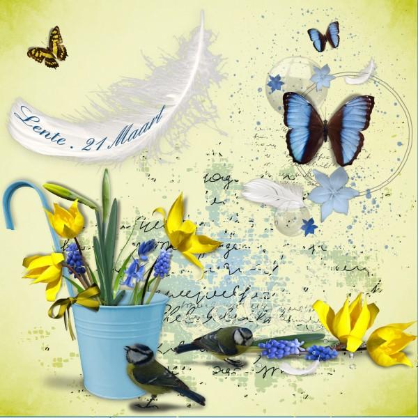 April 2016 -Lo 1 – Maart 2016 – de 21e = Lente.