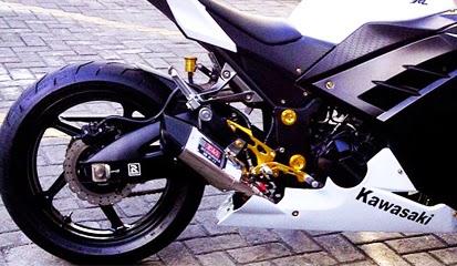 Brosur Daftar Harga Knalpot Racing Kawasaki Ninja 250 FI Terbaru 2015
