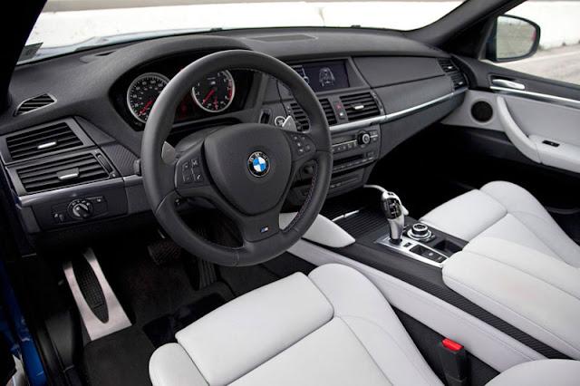 2012 BMW X5 M Front Interior