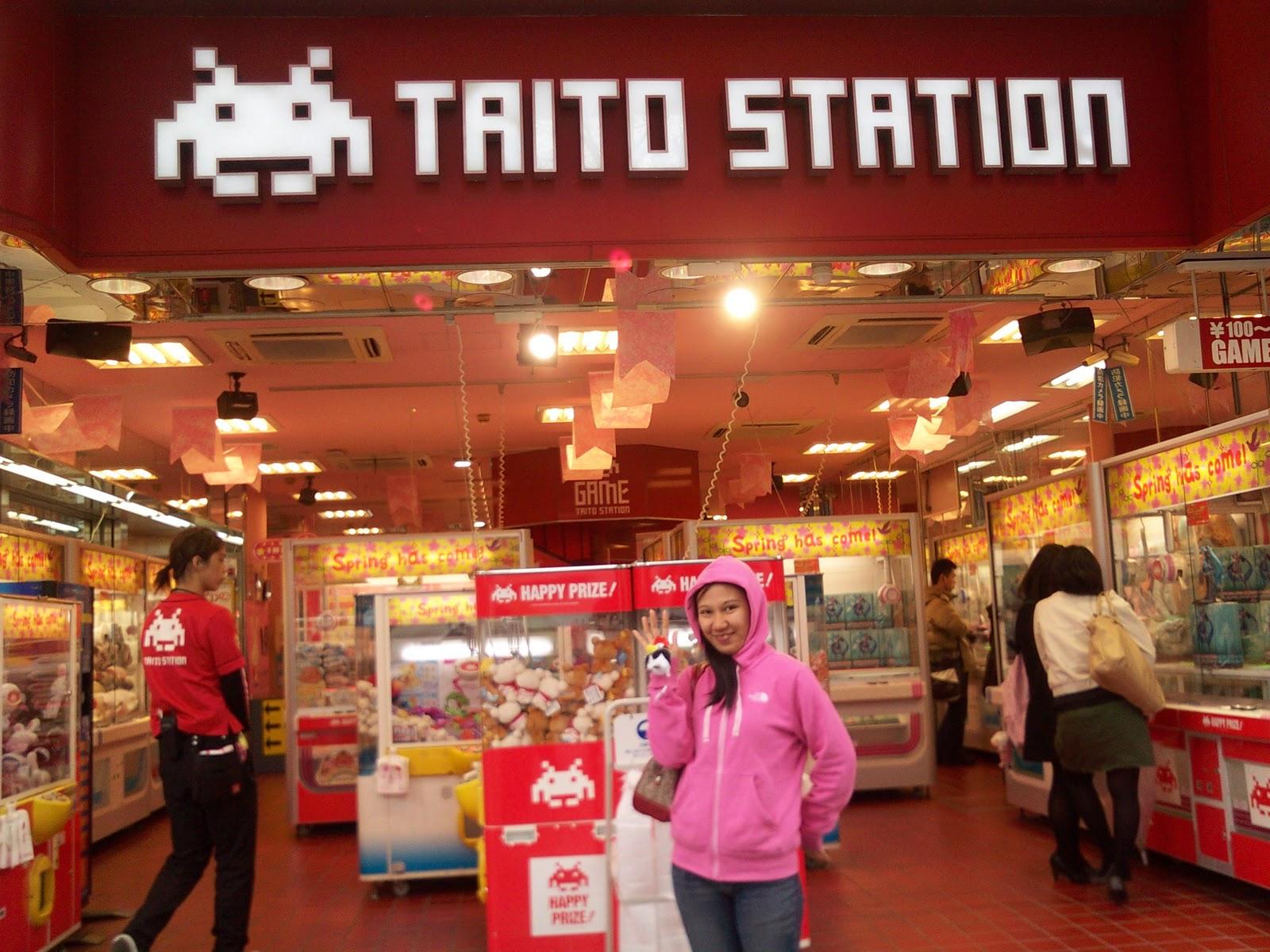 Tokyo Japan Akihabara Station Taito arcade