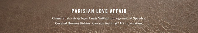 Parisian love affair handbags