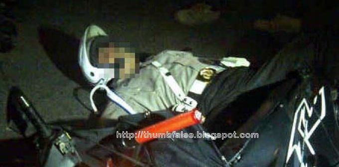 Bripka Sukardi tewas setelah tertembus timah panas