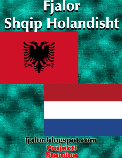 Fjalor Shqip Holandisht