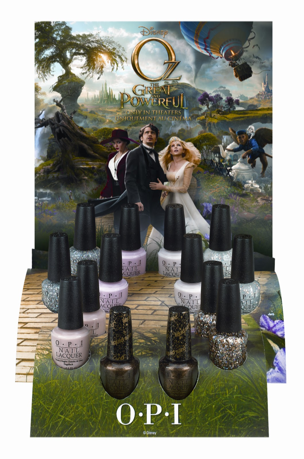 Scrangie: OPI Soft Shades inspired by Disney\'s Oz The Great and ...