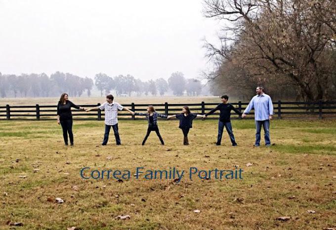 Correa Family Portrait