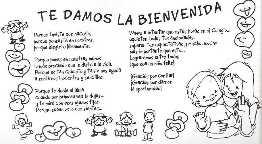 Encantador Bienvenido A La Escuela Para Colorear Ilustración - Ideas ...