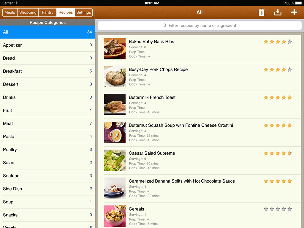 Mealboard a cool new meal planning grocery shopping list producing