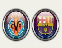 مشاهدة مباراة فياريال وبرشلونة 27-4-2014 بث مباشر علي بي أن سبورت مجانا Villarreal vs Barcelona
