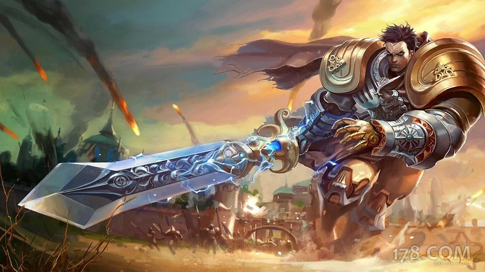 Garen League of Legends Wallpaper