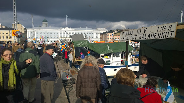 Helsinki Baltic Herring Market