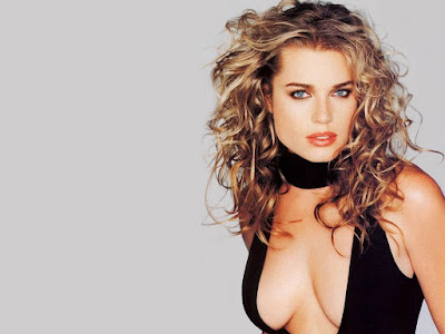 American Actress Rebecca Romijn Hot Wallpaper