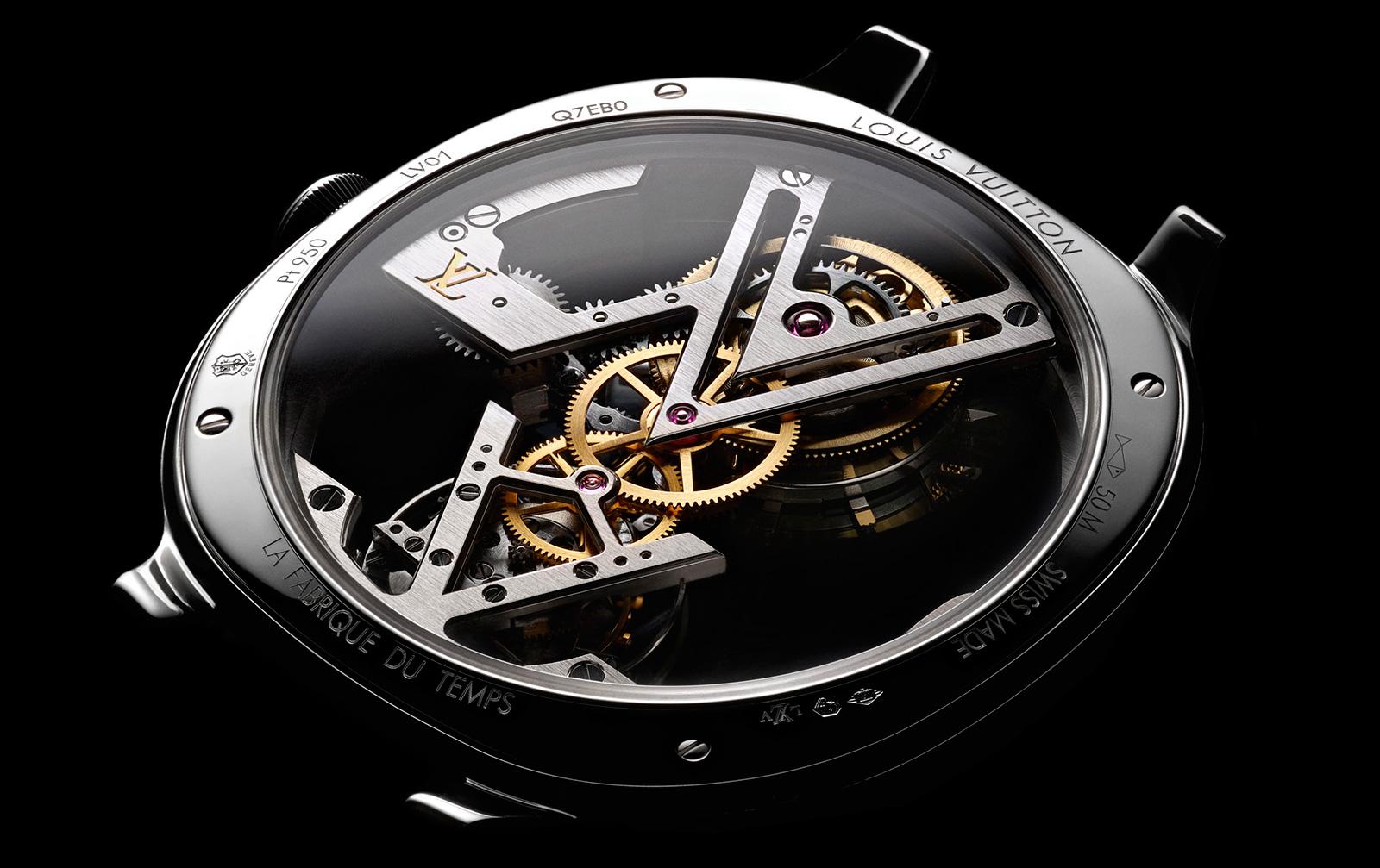 Watches By SJX: Louis Vuitton Introduces Skeleton ...
