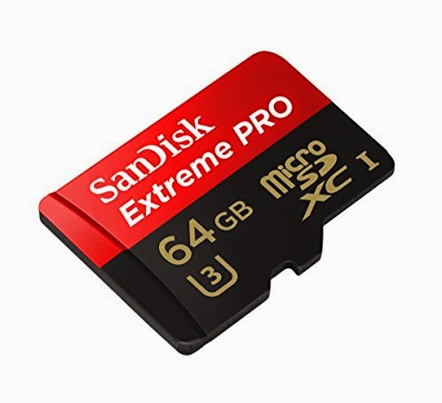 64GB SanDisk Extreme PRO Micro SDXC Memory Card for Samsung Galaxy Note 4 & Note Edge