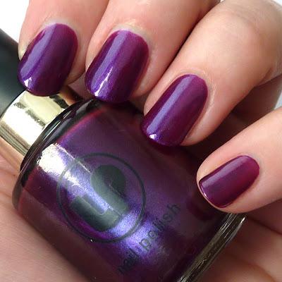 Laura Paige Grape Vine Nail Polish swatch