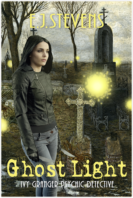 Cover Reveal & Giveaway: Ghost Light by E.J. Stevens