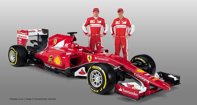 Formula 1 Ferrari SF15-T