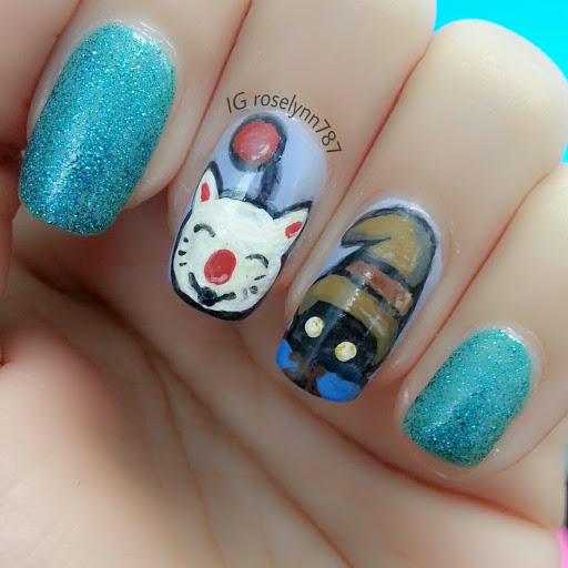 Final Fantasy Nails Manicured Marvelous