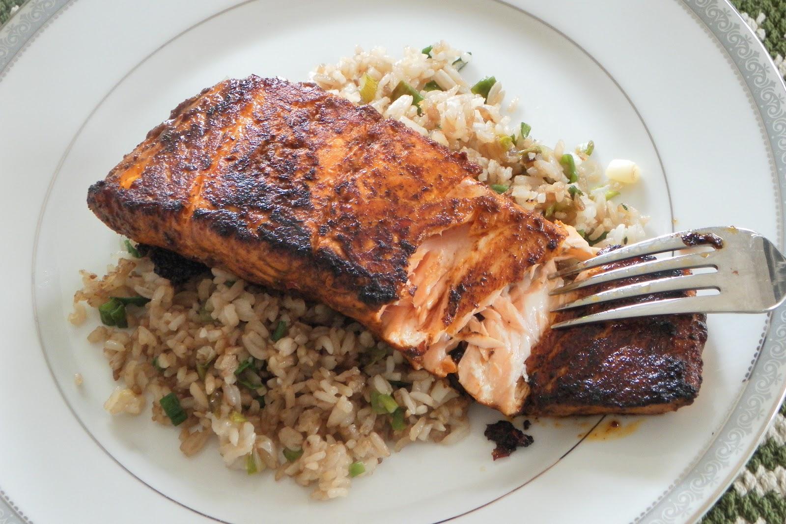 Cocina que te cocina salm n a los tres chiles for Como se cocina el salmon