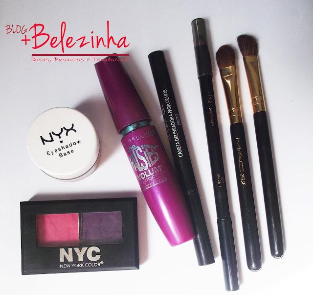maquiagem-roxo-com-rosa-delineado