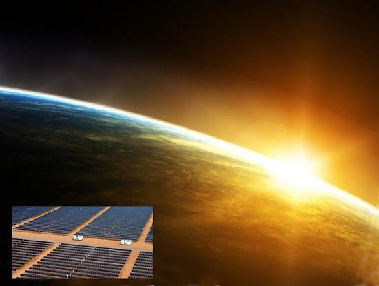 Солнечная электростанция в США