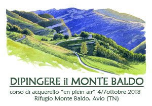 Dipingere Monte Baldo