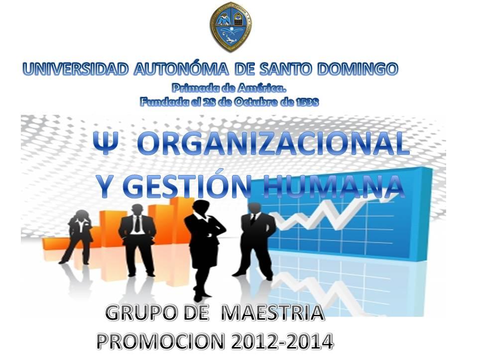 Maestría en Psicología Organizacional y Gestión Humana