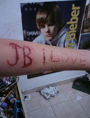 Justin Biebers Tattoo