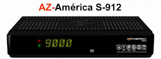 Atualização Azamerica S-912 V. 2.5.0 de 07/04/2013