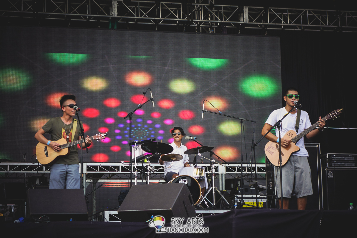 Narmi and the band @ Good Vibes Festival