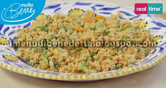 Cous Cous Bloody Mary di Benedetta Parodi