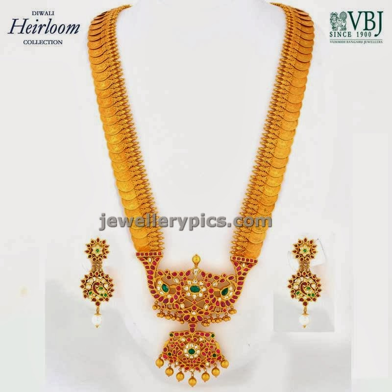 heirloom gold kasulaperu long chian by vbj