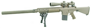 M110 SNIPER RIFLE by KNIGHT'S ARMAMENT