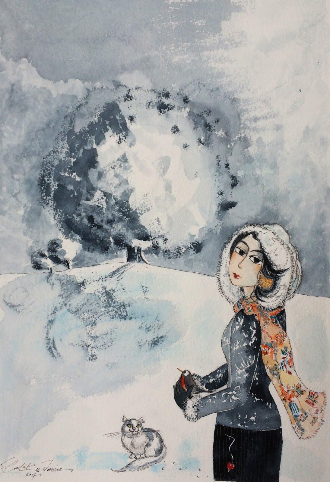""""""" Jour de neige """""""