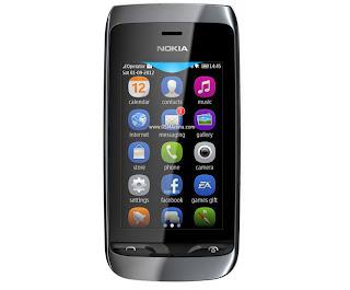 Nokia Asha 309, Touchscreen WiFi Harga 900 ribuan