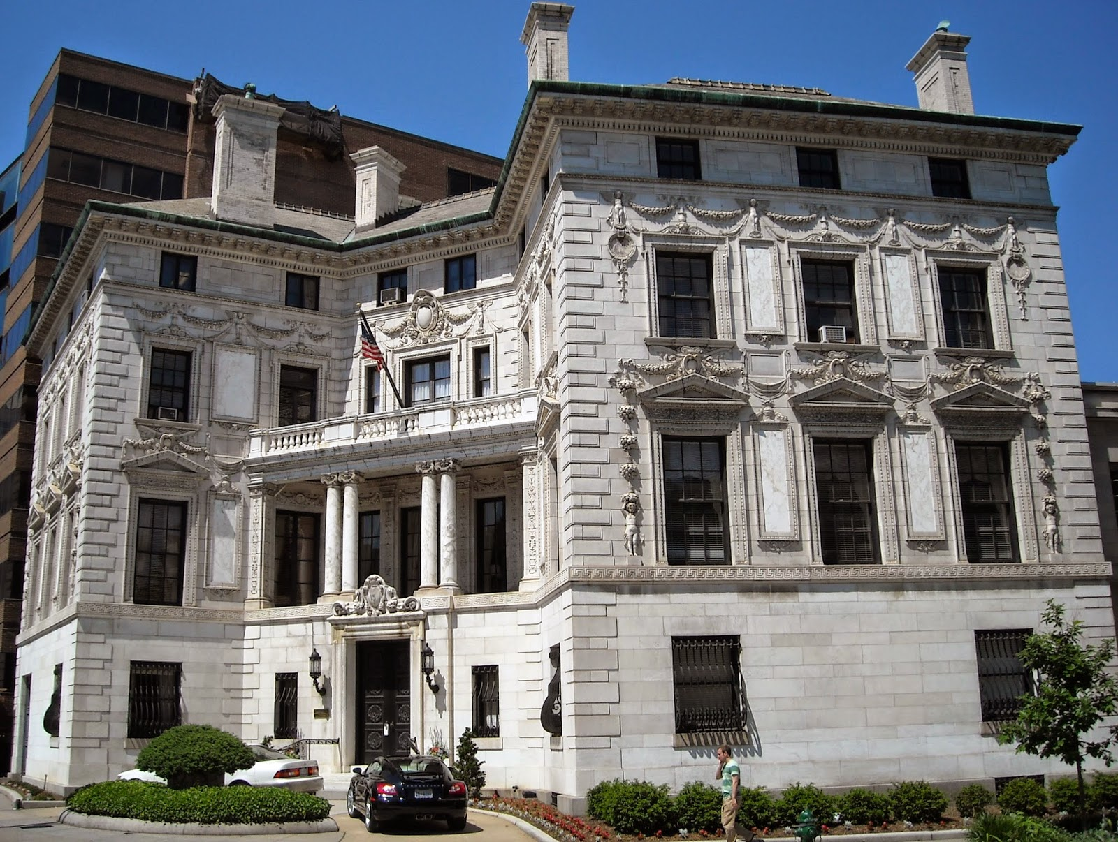 The patterson mansion 15 dupont circle nw for Dupont house