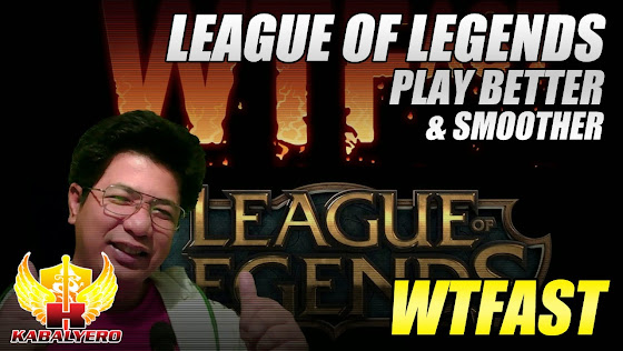 WTFast League Of Legends, Play Better And Smoother