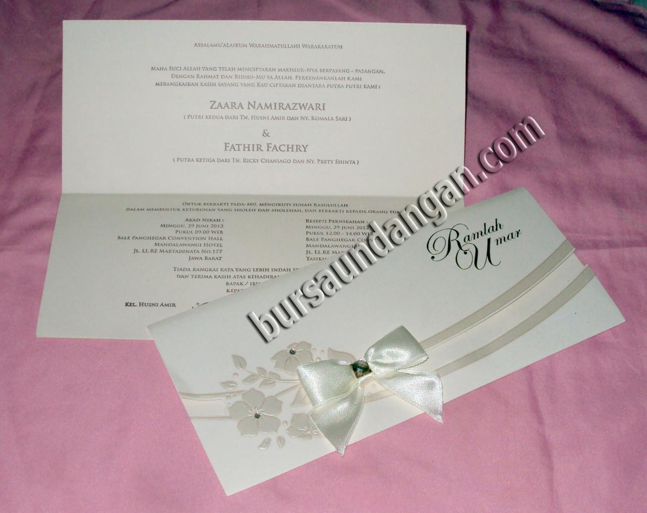undangan pernikahan unik kata genuardis portal undangan pernikahan ...