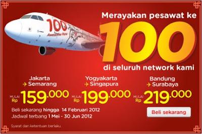 Harga Promo Air Asia 2012 terbaru