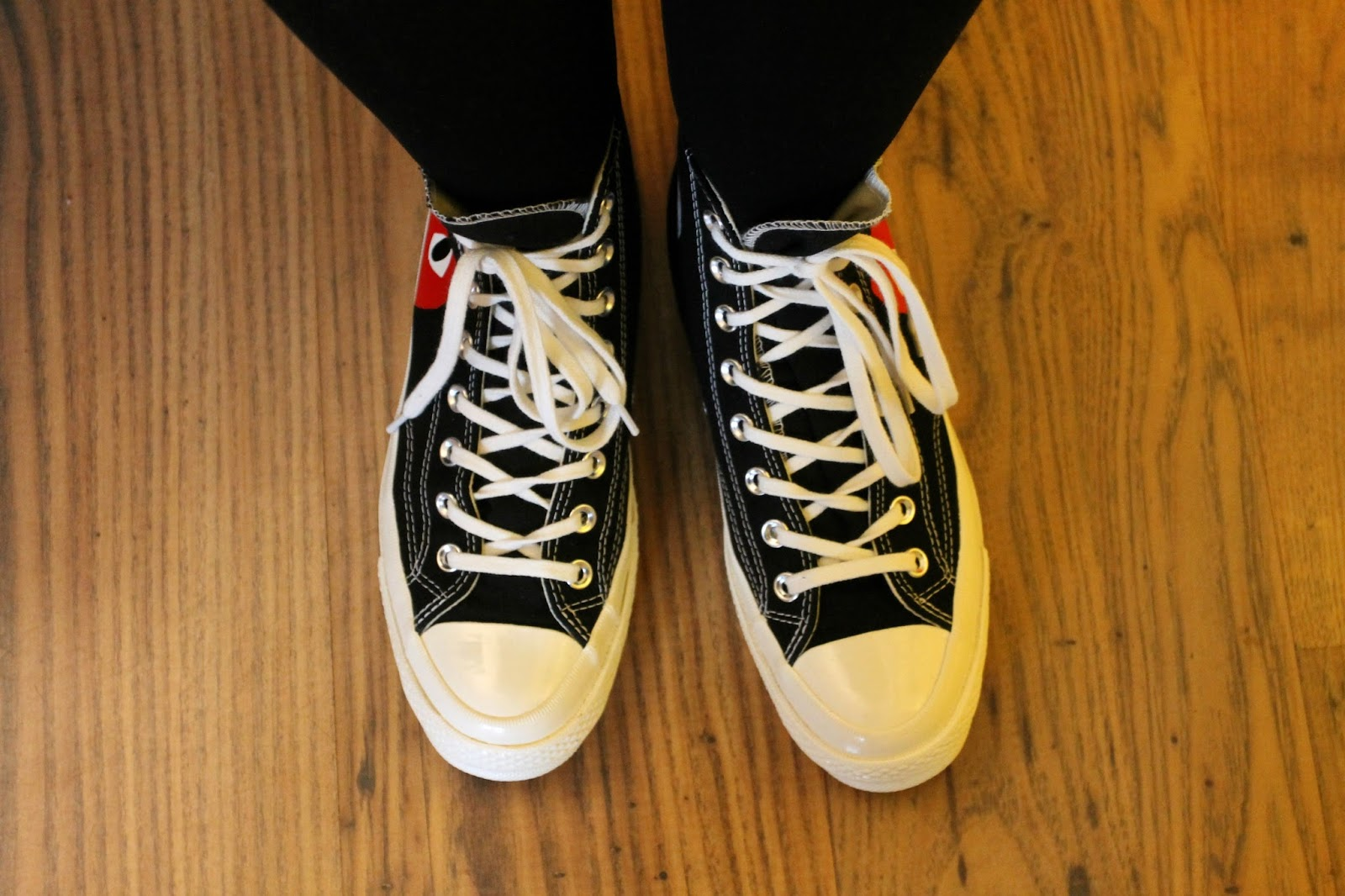 cdg play converse outfit
