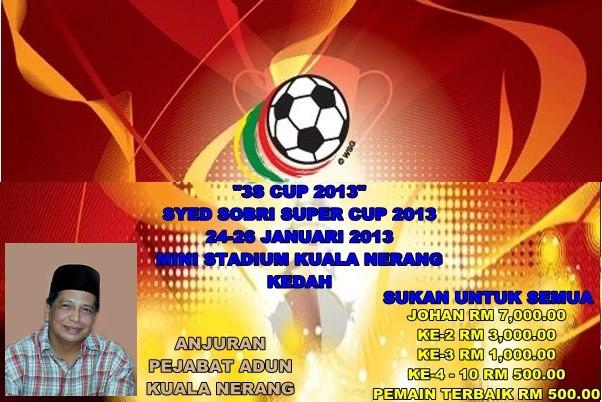 Bola Sepak Tertutup 9 Sebelah Padang Terap 2013 (3S Cup 2013
