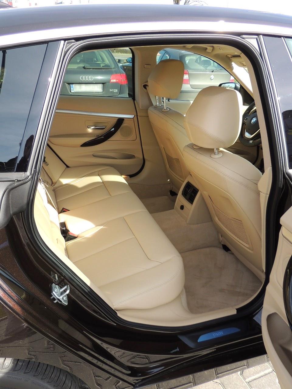 BMW 3 GT - tylna kanapa