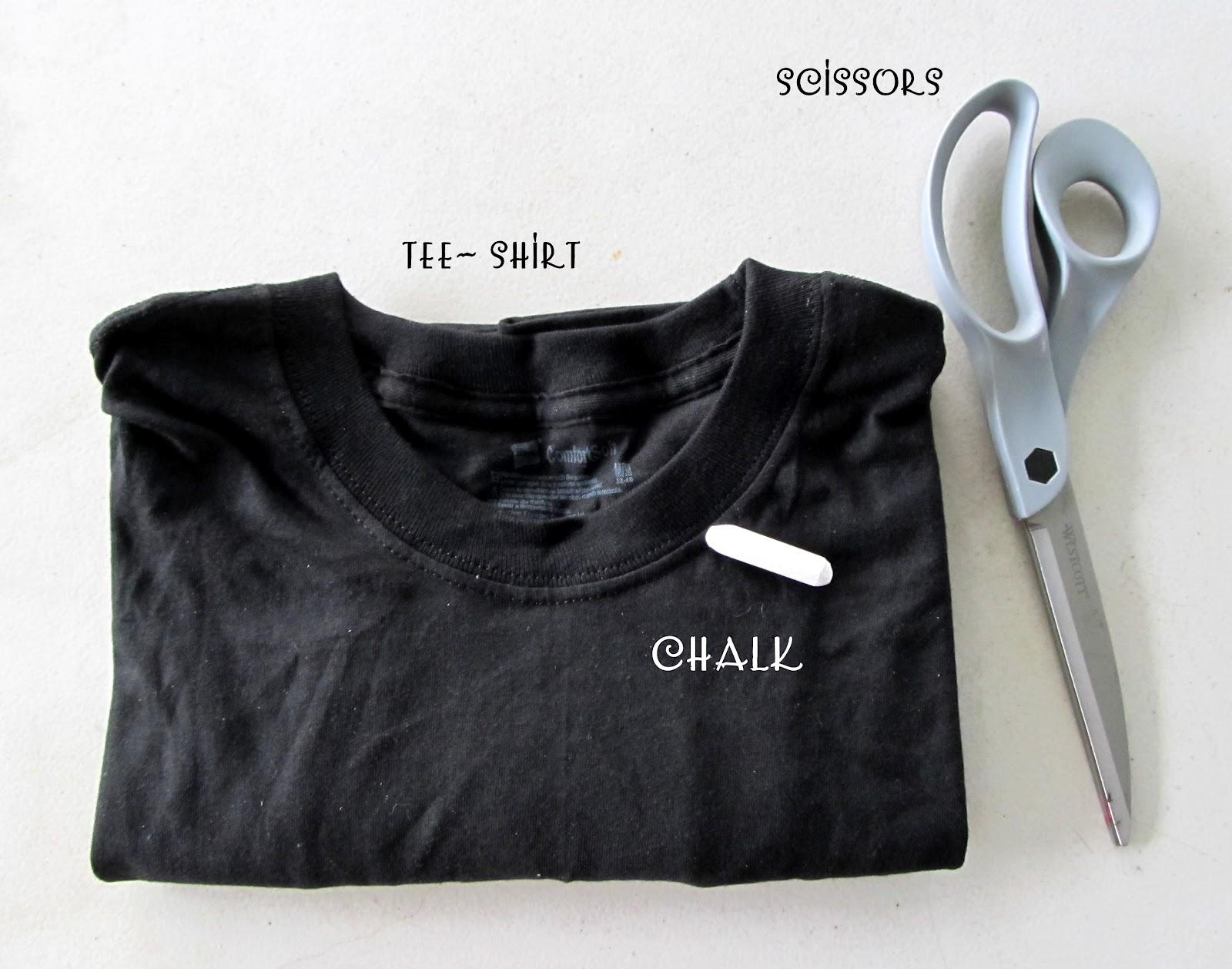 Slashed T Shirt Designs