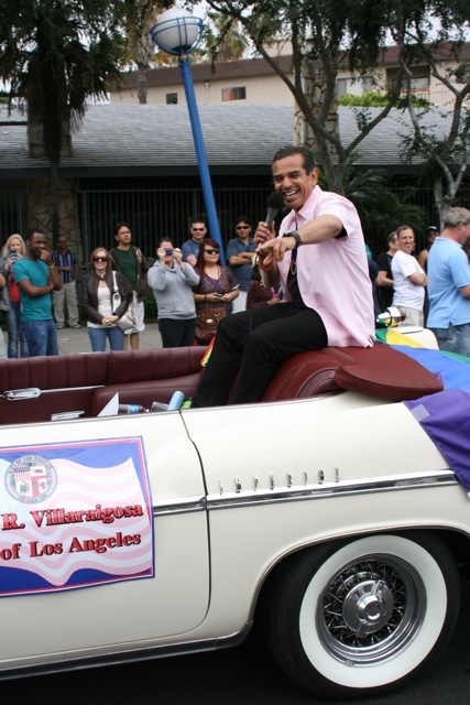 LA Mayor Villaraigosa Pride Parade 2011