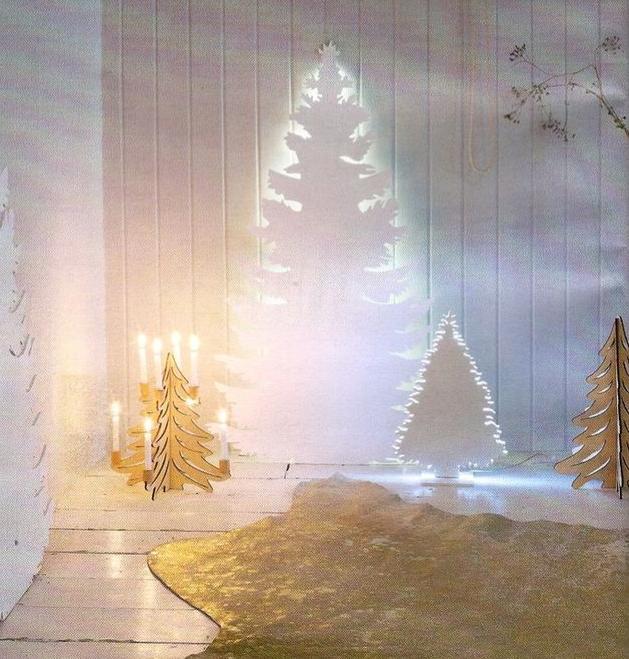 La chica del malet n 10 ideas originales para hacer tu - Arbol de navidad original ...