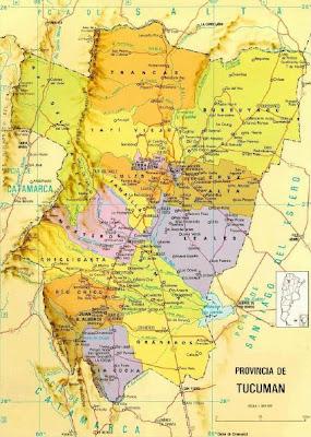 Tucumán Mapa Imagen