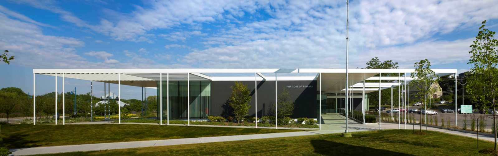 RDH Architects Port Credit Library