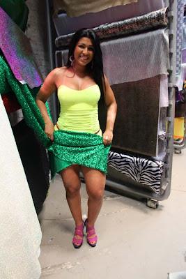 Ellen Cardoso - Musa da camisa verde e branco 5