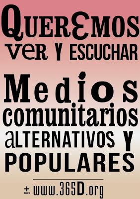 Medios Comunitarios Alternativos y Populares