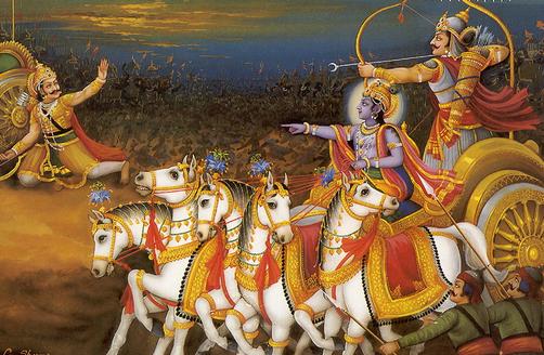 Arjuna membunuh Karna